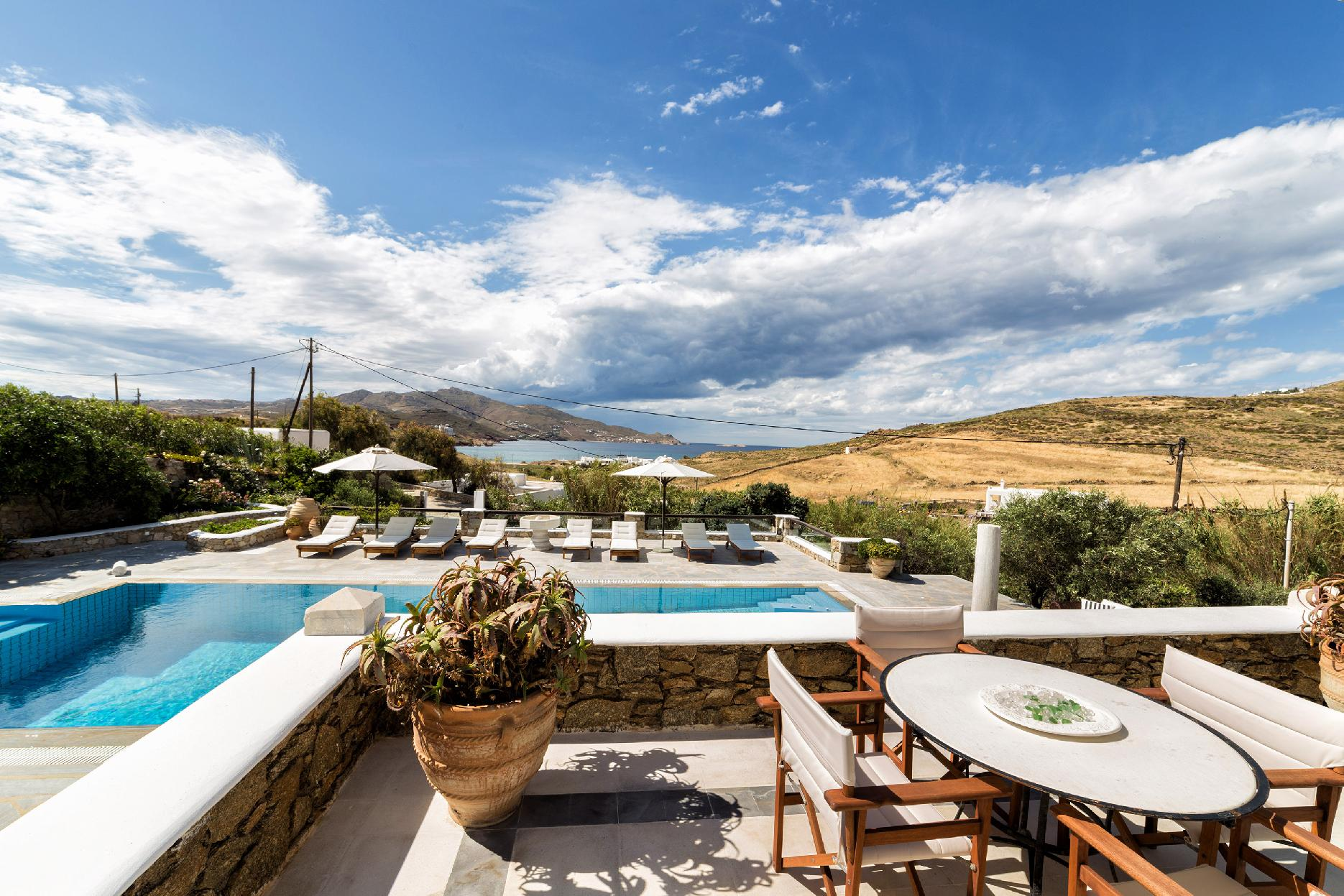 Apartment The Galaxy Mykonos villa with large pool and yoga platform photo 6005313