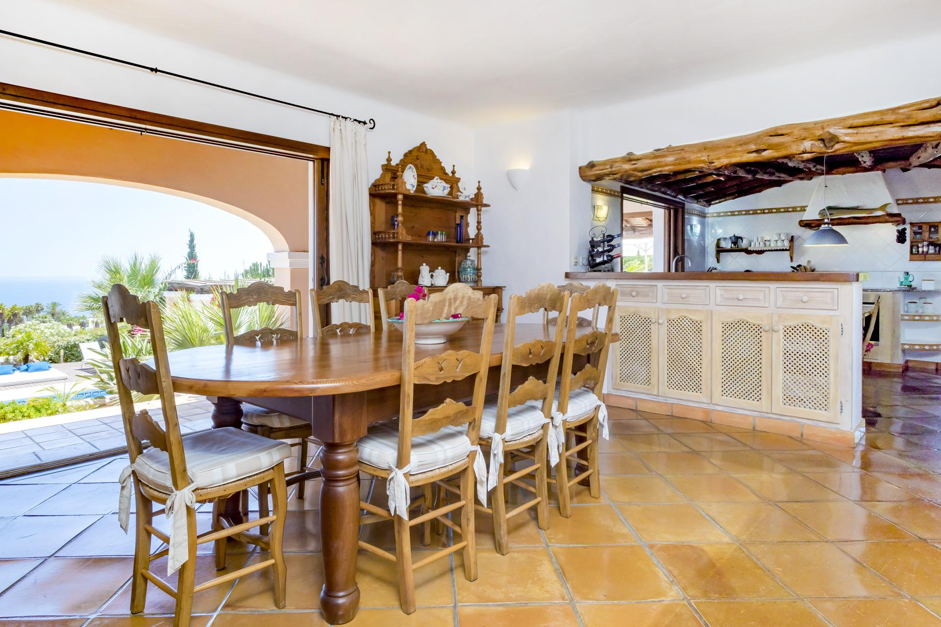 Apartment Villa Cas Berris  Lujo y Vista mar en Es Cubells photo 17539230
