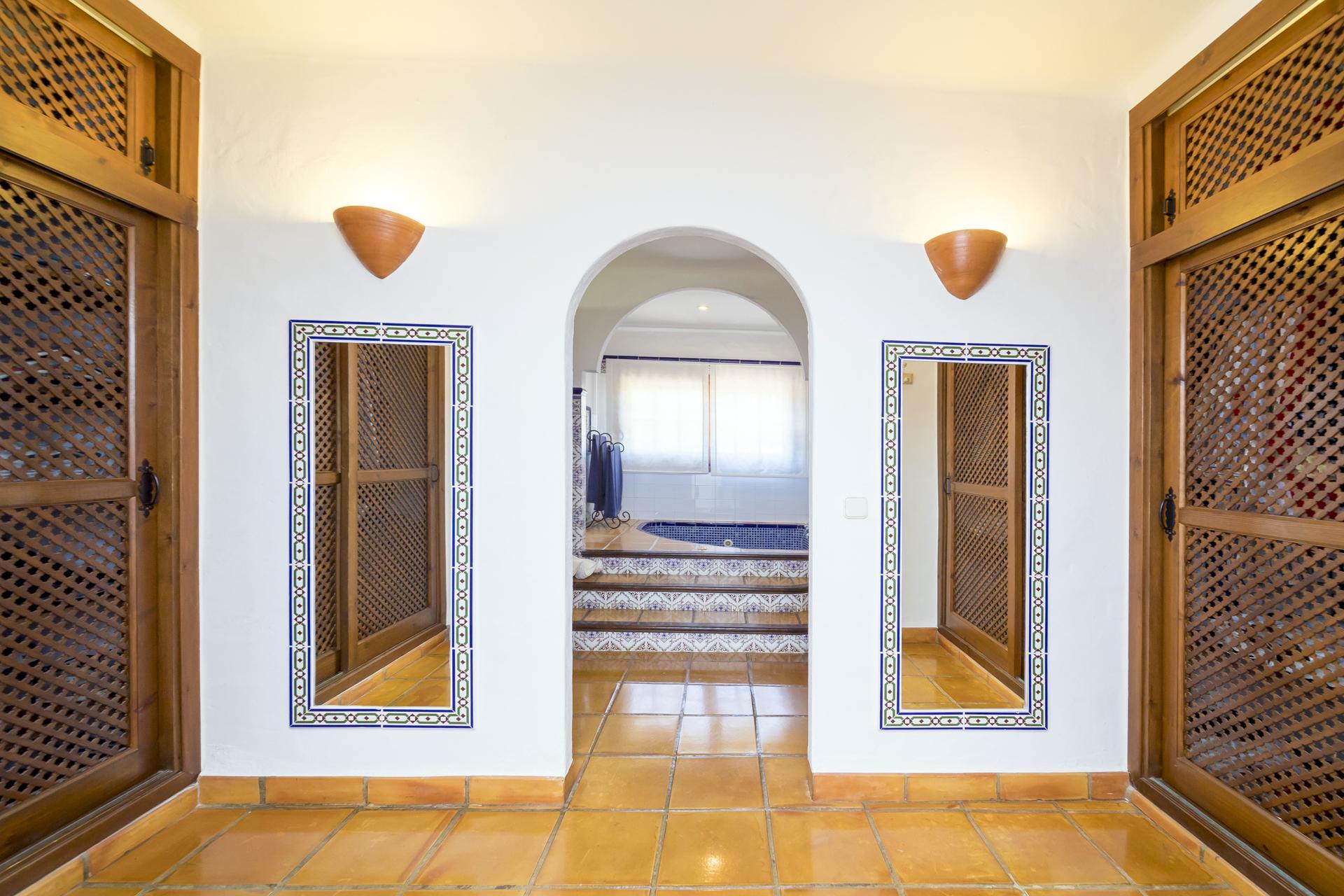 Apartment Villa Cas Berris  Lujo y Vista mar en Es Cubells photo 17644645