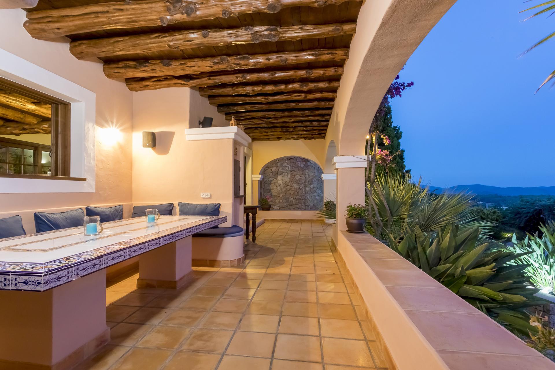 Apartment Villa Cas Berris  Lujo y Vista mar en Es Cubells photo 17539244