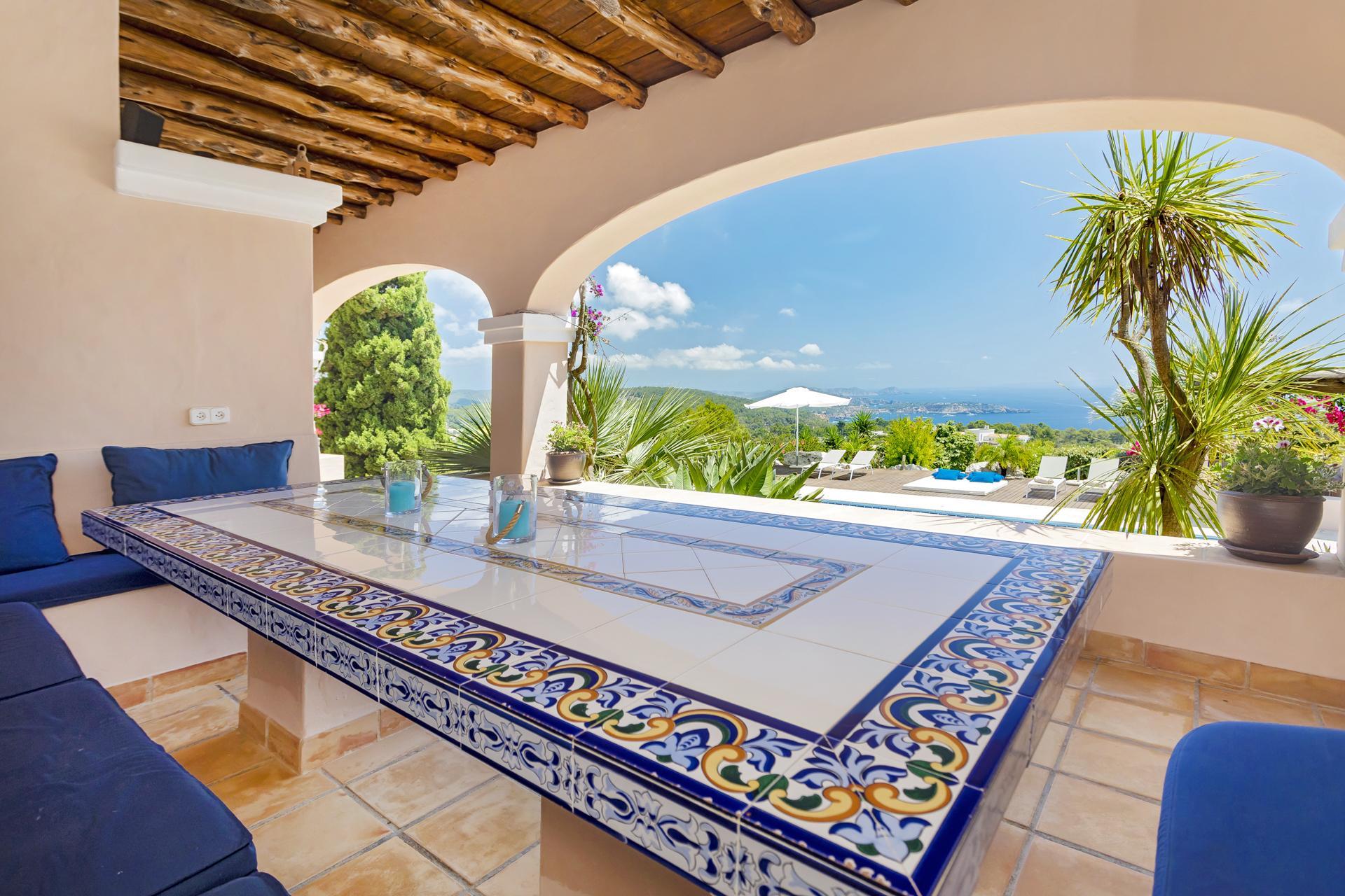 Apartment Villa Cas Berris  Lujo y Vista mar en Es Cubells photo 17428566