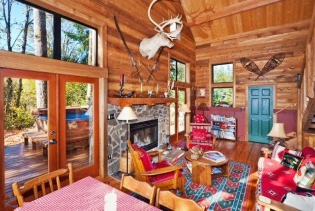 Mt. Baker Lodging Cabin #44 – HOT TUB, FIREPLACE, BBQ, W/D, PETS OK, WIFI, SLEEPS-8! photo 60307